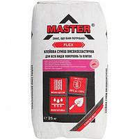 Клей для плитки Master-Флекс 25 кг