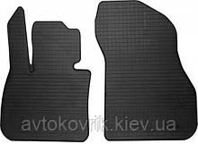 Резиновые передние коврики в салон BMW X1 (F48) 2015- (STINGRAY)