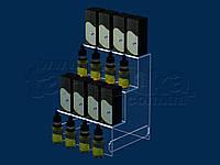 Горка под жидкости для электронных сигарет 200х250 мм, акрил 1,8 мм, фото 1