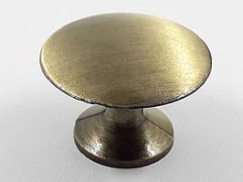 Ручка кнопка 1040 бронза