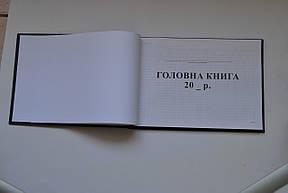 Головна книга, А4, ТП, бумвініл, 96 арк,офс, фото 2