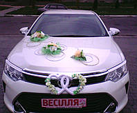 Декор весільного автомобіля Декор свадебного автомобиля