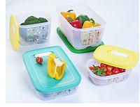 """Набор контейнеров """"Умный холодильник"""" ( 800 мл, 1,8 л низкий, 1,8 л высокий, 4,4 л), Tupperware"""