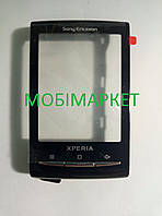 Сенсор (тачскрін) Sony Ericsson X10 mini original чорний