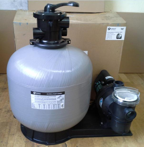 Emaux FSF450 — песочная фильтровальная станция для бассейнов