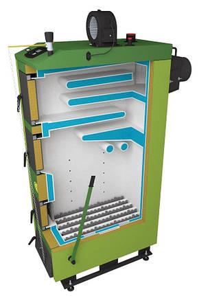 Отопительный котел на твердом топливе SAS UWT 29 кВт (Польша), фото 2
