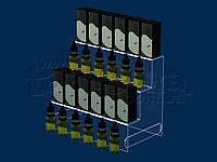 Горка под жидкости для электронных сигарет 300х250 мм, акрил 3 мм, фото 1