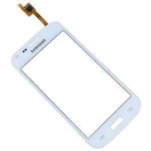 Тачскрин сенсор Samsung G350 E белый MELFAS с окошком под камеру