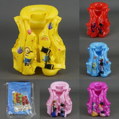 Жилет надувной для плавания В с рисунками 3-6 лет 6 видов - Under toys в Луцке