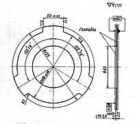 Фрикционный диск 1М63.21Э.388 (внешний)