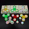 Спиннер Игрушка антистресс с подсветкой на кнопках Fidget Spinner!Опт, фото 2