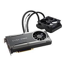 Видеокарта EVGA GeForce GTX 1080 FTW Hybrid Gaming 8GB (08G-P4-6288-KR)