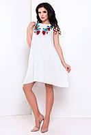 Летнее молодежное платье свободного кроя, Василина