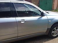 Накладка порога наружная Mitsubishi Outlander 2.0, 2004г.в. MN186474