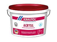 Krautol Acrysil - cиликоно-модифицированная фасадная краска (10 л)