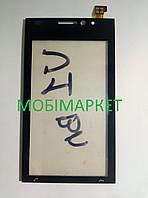 Сенсор (тачскрін) Sony Ericsson U1 original чорний