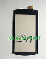 Сенсор (тачскрін) Sony Ericsson U5 original чорний
