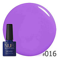 Гель-лак NUB (США)  THE COLOR PURPLE 016   8ml