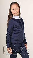 Mevis, Школьная кофта для девочки 1850 синяя