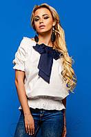 Женская коттоновая блуза Рикки Jadone Fashion 42-48 размеры