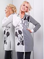 Стильная женская блуза-туника