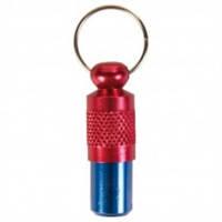 Капсула на ошейник для адреса (красно-синяя) (TX-2279)