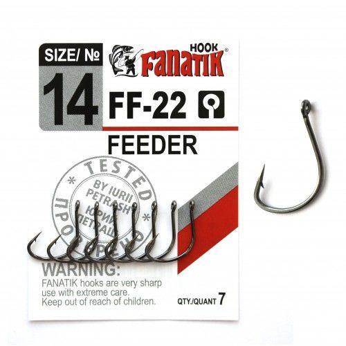 Крючки Фанатик FEEDER FF-22 №14