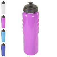 Спортивная бутылка-поилка пластик/силикон 1000мл MP-0987