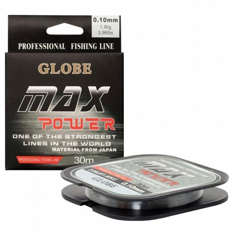 Леска GLOBE MAX POWER, 0,16мм