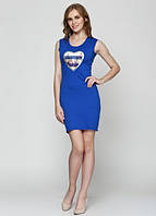 57271 Платье женское синее: imprezz.com.ua