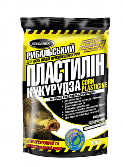 Пластилин Megamix Кукуруза, 900г