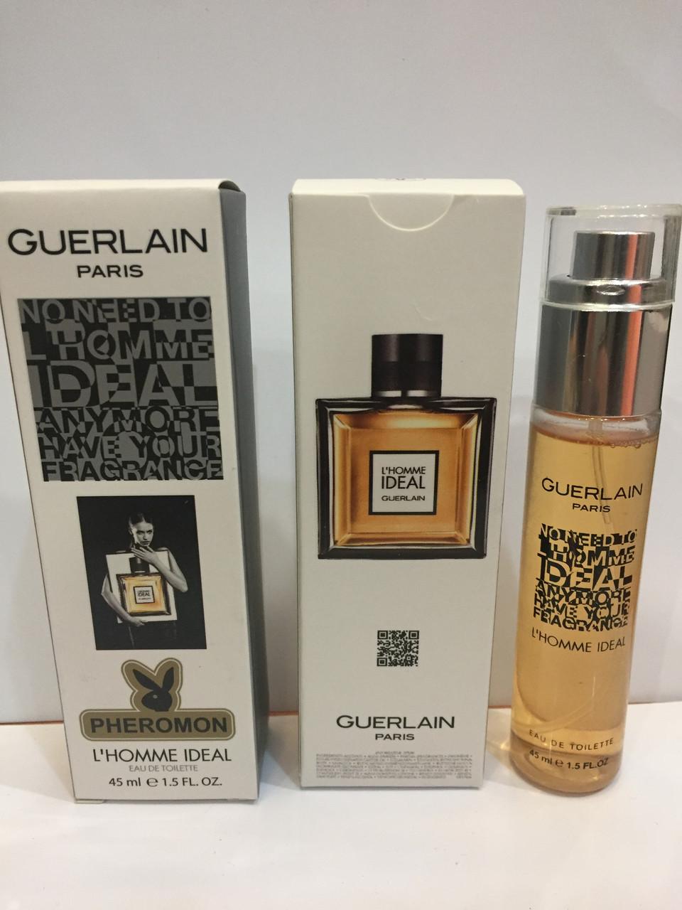 Мини парфюм мужской с феромонами Guerlain L'Homme Ideal (Герлен Л*Хом Идеал) 45 мл