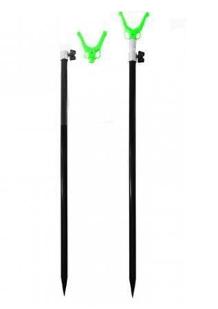 Подставка под удилище телескопическая, 120 см (под сигнализатор)