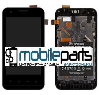 Оригинальный Дисплей (Модуль) +Сенсор (Тачскрин) для  Prestigio 4040 (С рамкой) + Скотч!