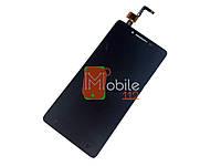 Модуль для Lenovo A6010, A6010 pro (Дисплей + тачскрин) чёрный оригинал PRC