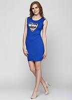58271 Платье женское синее: imprezz.com.ua