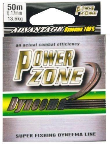 Шнур плетенный Power Zone, 0.15мм с пропиткой