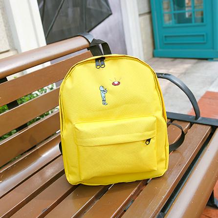 Крутой рюкзак с инопланетянином