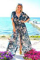 Женская пляжная туника в пол №8059, фото 2