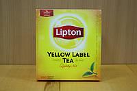 Чай Липтон Черный 100 пак. / Lipton Yellow Label 100 пак.