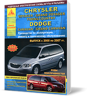Книга / Руководство по ремонту CHRYSLER VOYAGER / GRAND VOYAGER / TOWN / COUNTRY, DODGE CARAVAN / GRAND CARAVAN 2000-2007 бензин / дизель | Атласы