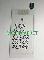 Сенсорний екран для мобільних телефонів Sony D2302 / D2303 / D2305 / D2306 Xperia M2 білий