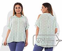Модная женская рубашка большого размера у-ta1551407