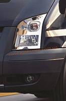 Накладки на фары Carmos на Ford Transit 2007-2012