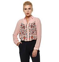 Стильна жіноча блуза з квітковим принтом