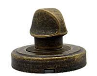 Фиксатор WC для межкомнатного замка Mariani старая бронза (Италия)