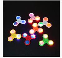 Спиннер светящийся (LED подсветка) на подшипнику, разные цвета