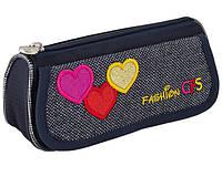 """Пенал школьный мягкий CF85587 """"Hearts"""" Cool For School"""
