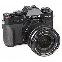 Fujifilm X-T10 kit (18-55mm f/2.8-4.0 R) Black 12 мес гарантия