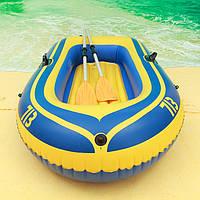 Лодка двухместная надувная